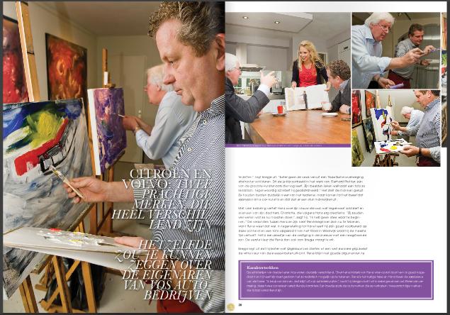 Creatief interviewer gezocht? HIT MKB vond Door Lotje Getikt voor de vaste rubriek: het Schilderinterview