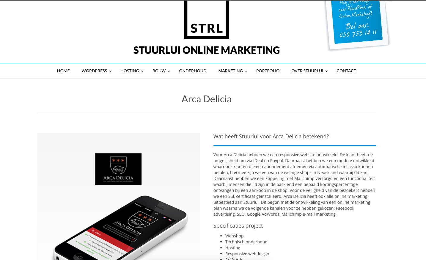 Stuurlui online marketing